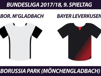Bundesliga Tickets: Borussia Mönchengladbach - Bayer Leverkusen, 9. Spieltag