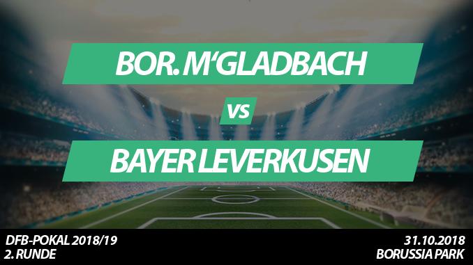 DFB-Pokal Tickets: Borussia Mönchengladbach - Bayer Leverkusen, 31.10.2018