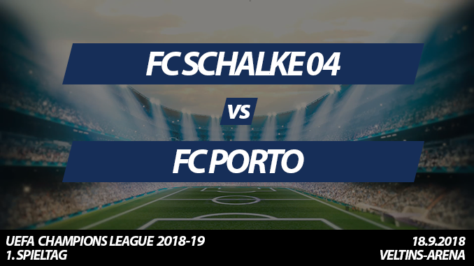 Champions League Tickets: FC Schalke 04 - FC Porto, 18.9.2018